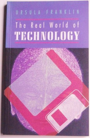 Purple cover of a book with a floppy disk superimposed over a person's face